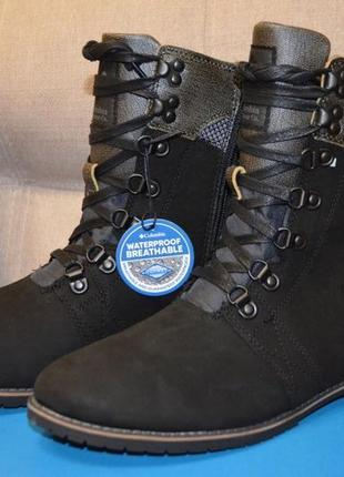 Columbia оригинал новые кожаные женские ботинки сапоги размер 37 23 см по  стельке e2add98b43f