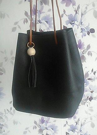 Супер современная сумка+кошелек в комплекте4
