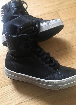Супер кеды-ботинки catwalk