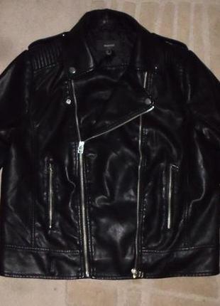 Обалденно крутая мягенькая бренд.куртка-косуха mango,оригинал,испания,стеганая