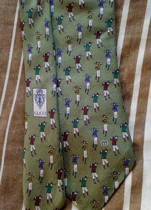 Gucci шёлк галстук,оригинал.