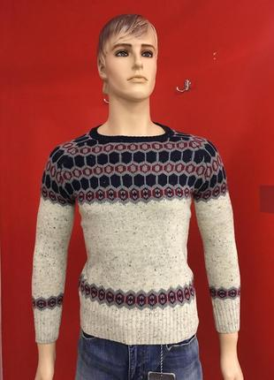 Мужской зимний свитер alcott р-m