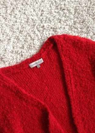 Ярко-красный кардиган m&s3