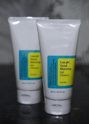 Гель для умывания cosrx low ph good morning gel cleanser