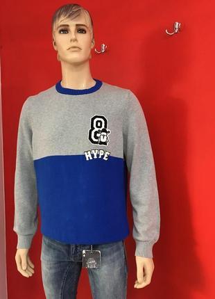 Стильний чоловічий светер з манжетом від c&a