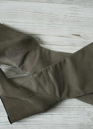 Кожаные сапоги asos