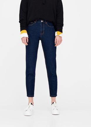 Шикарные джинсы mom fit с высокой посадкой от pull&bear, 34р, испания