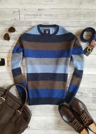 Мужской шерстяной свитер charles voegele