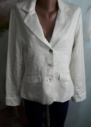 Пиджак с люрексом р-р л-хл