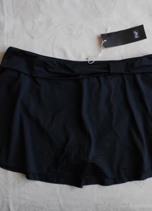 Плавки купальные трусики с юбкой новые f&f размер 14(42) – идут на 48-50+