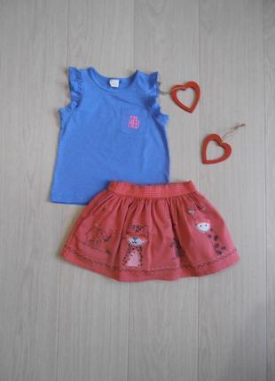 Набор футболочка&юбка1