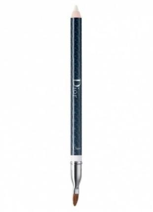 Универсальный карандаш для контура губ dior crayon contour levres universel с растушевкой