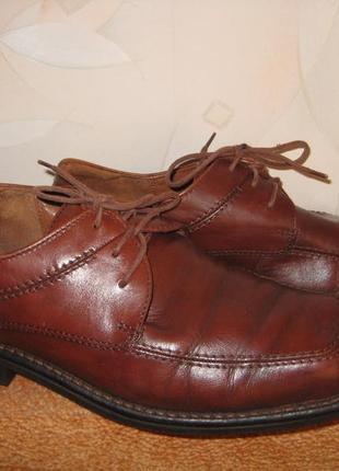 Фирменные кожаные туфли ессо 42р.