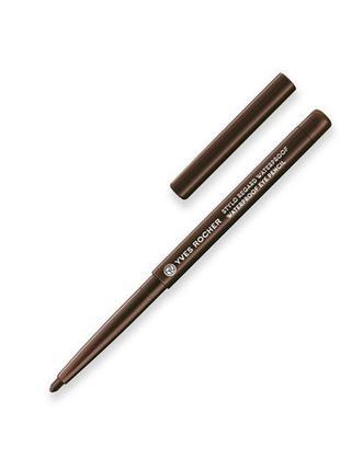 Водостойкий карандаш для контура глаз - коричневый ив роше