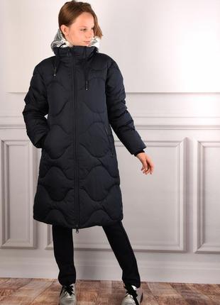 Зимнее очень теплое дутое пальто кико 4964 kiko кіко для девочки 158,164,170