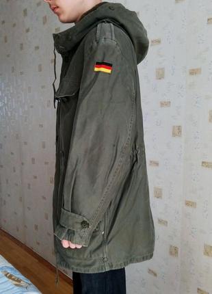 Куртка, парка милитари бундесвер.