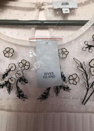 Новая фирменная блузка river island  14 размер5 фото