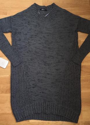Тёплый свитер туника парка джемпер свитшот