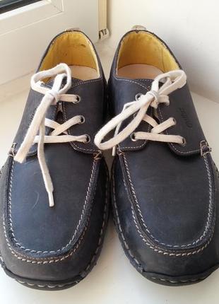 Кожаные туфли gallus 43р. (28.5 см.)