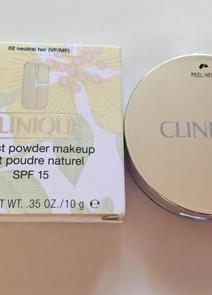 Компактная пудра clinique almost powder makeup spf 15