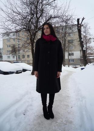 Стильное пальто italy  р.м - 65% шерсть!