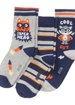 Комплект носки мальчику, kik, германия