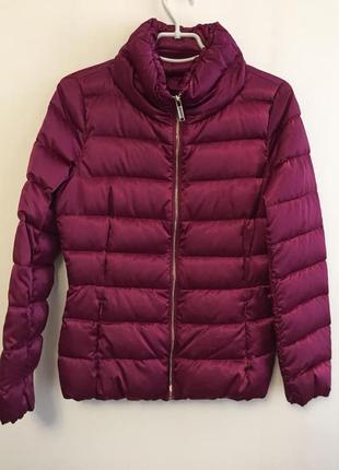Пуховая женская куртка massimo dutti