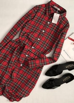 Новое стильное платье рубашка ethan & amy