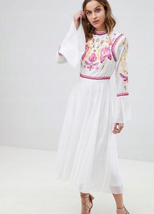 Frock and frill розкішна вишита сукня