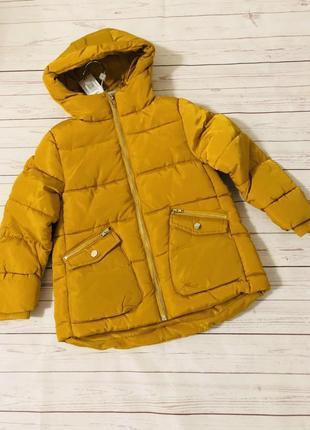1. тёплая куртка маталан matalan англия 6 7 8 9 лет