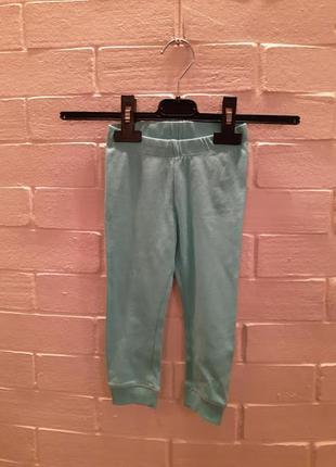 Пижамные штаны h&m 307170 9-12 мес