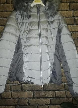 Фирменная лыжная куртка от tcm tchibo