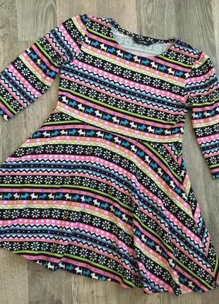 Платье для девочки george 6-8 л