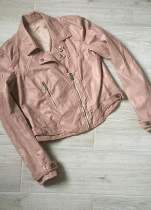 Ніжно-рожева куртка #косуха