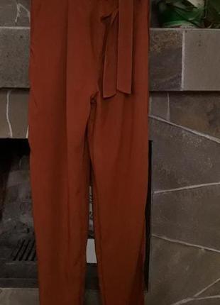 Шикарные  фирменные брюки.  44-46р (см. замеры!)