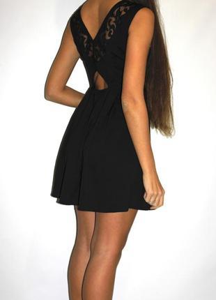 Шикарное черное платье , красивая спина (см доп фото)2