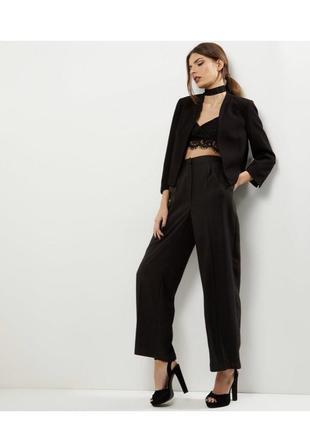 Стильный укороченный пиджак, классический жакет 3/4 рукав, блейзер