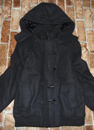 Пальто стеганка 11-12лет f&f деми еврозима