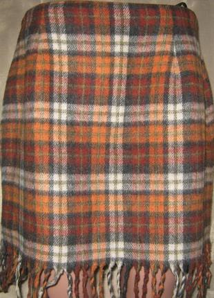 """Модная юбка с бахромой""""montego""""р eur 42, из германии."""