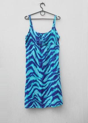 Летнее легкое платье сарафан из вискозы