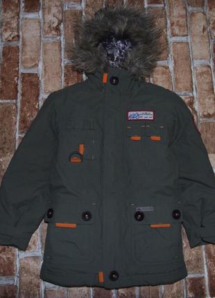 Куртка 6лет зима quechua