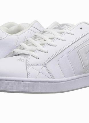 Кожаные dc shoes net р. 42 ст. 27 см. кроссовки