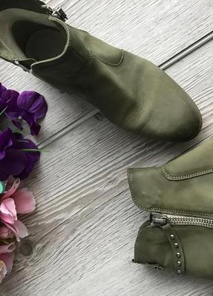 Удобные кожаные ботинки бренд andiamo walking 37-38