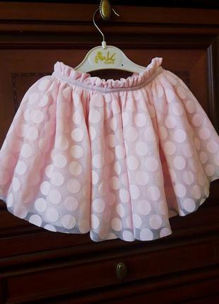 Пышная юбка из фатина