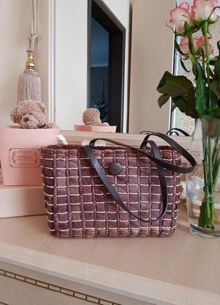 Плетеная соломенная сумка per una