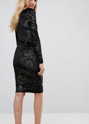 Красивенное бархатное платье м/l
