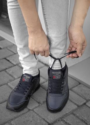 Черные женские кроссовки reebok classic разные размеры в наличии