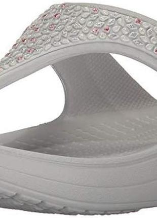 Вьетнамки crocs embellished sloane раз.w6 - 23см