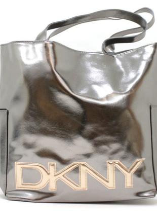 Пляжная сумка, сумка-шоппер dkny,donna karan