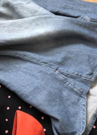 Обнова в профиле!!!новая люкс качества джинсовая рубашка 14-422
